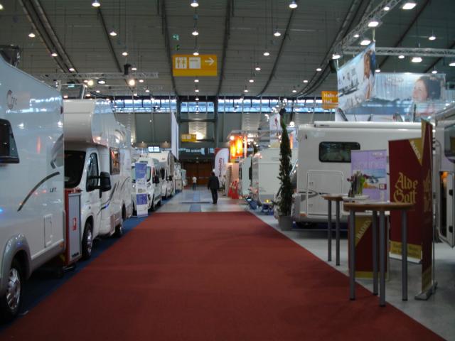 Выставка караванинга в Штуттгарте 2012 Фотогалерея